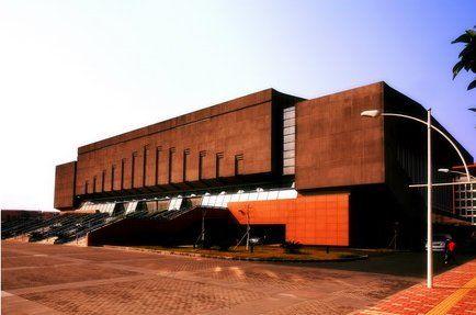 中山大学体育馆外观