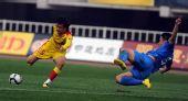 图文:[中超]陕西5-0长沙 李凯射门