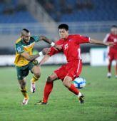 图文:[亚青赛]朝鲜3-2澳大利亚 互不相让