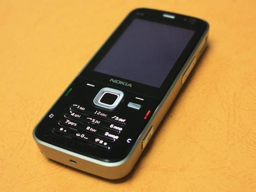 图为:诺基亚n78手机图片