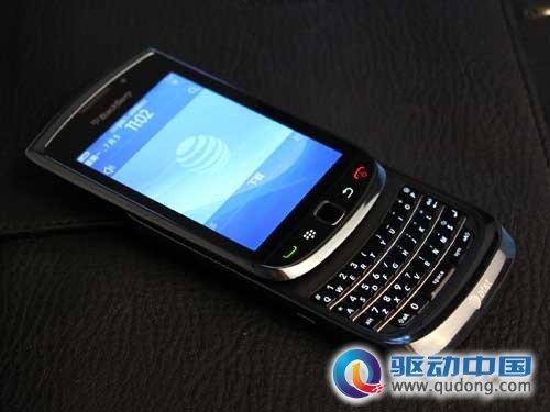 首款os 6.0手机 触屏全键盘黑莓9800全新推出(组图)
