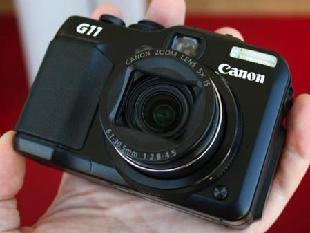 高端小型专业数码相机 佳能新品G11上市