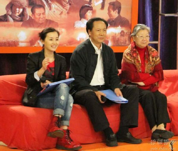 张舒羽和刘思齐一起录节目