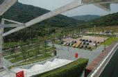 图文:亚运会广州飞碟训练中心 配套停车场
