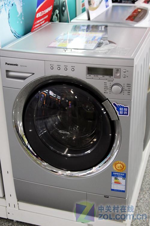 宽大投衣舱门 松下滚筒洗衣机现5698元