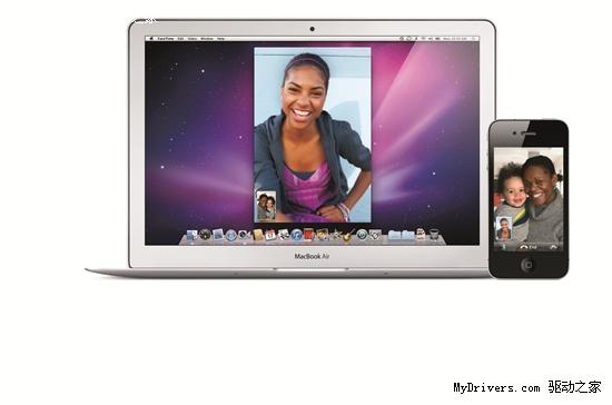 电脑手机视频通话 苹果发布Mac版FaceTime