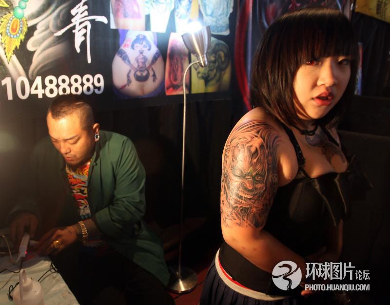 中国纹身达人大聚会(组图)图片