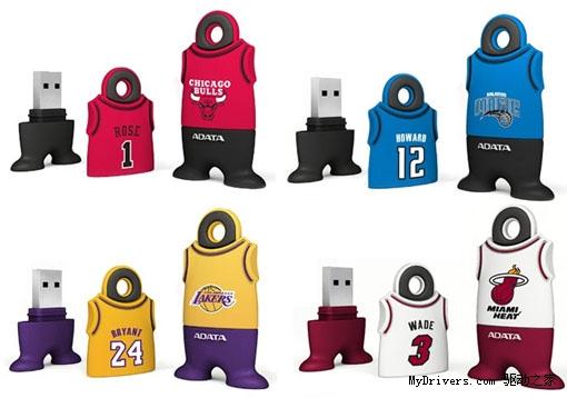 威刚宣布NBA球星主题U盘
