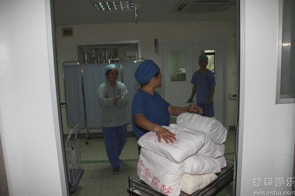 医院的工作人员