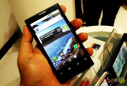 4.1寸大屏1GHz Android系统新旗舰曝光