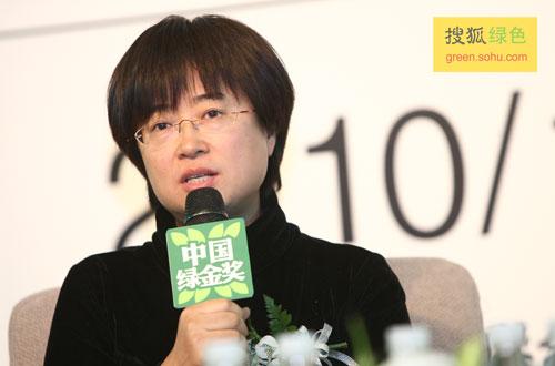 山水自然保护中心主任、北大教授吕植女士(搜狐-唐怡民/摄)