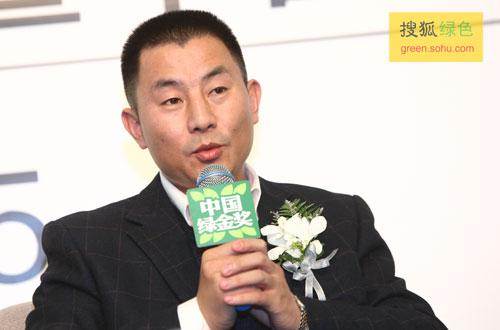 青岛啤酒股份有限公司生产管理总部部长卢绪军先生(搜狐-唐怡民/摄)