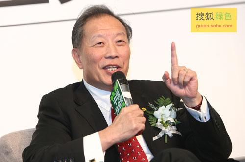 世界自然基金会全球气候变化应对主任杨富强先生(搜狐-唐怡民/摄)