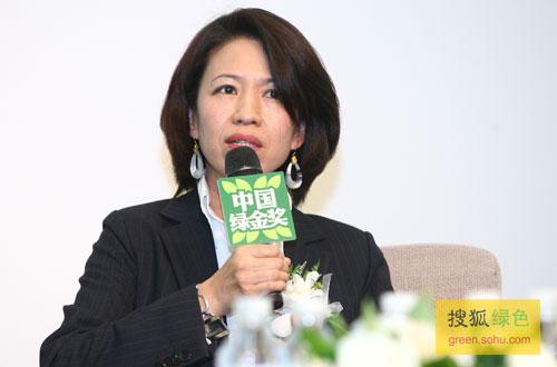 科尔尼公司合伙人黄荻女士(搜狐-唐怡民/摄)
