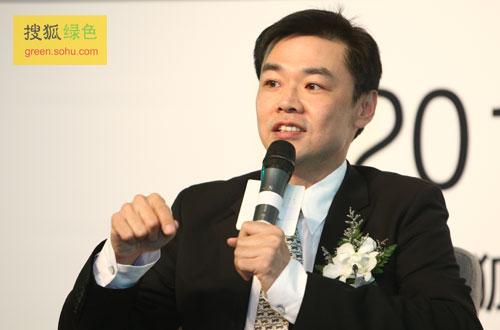 宝洁大中华区对外事务总经理许有杰先生(搜狐-唐怡民/摄)