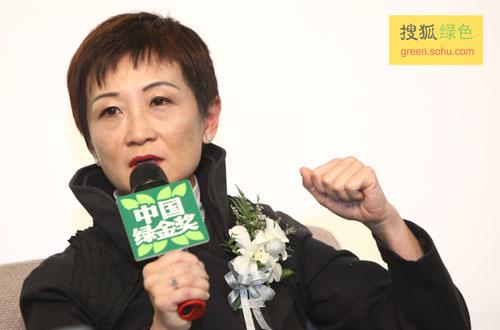威汉营销传播集团主席兼CEO陈一��女士(搜狐-唐怡民/摄)