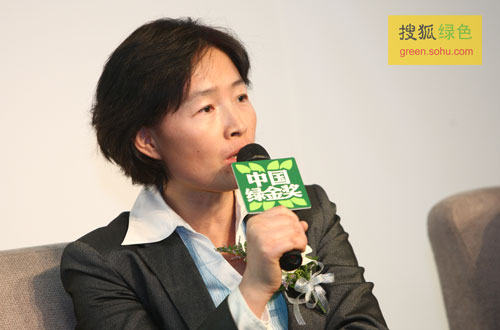气候组织大中华区总裁吴昌华女士(搜狐-唐怡民/摄)