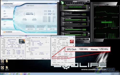 1G仅是起步 HD6870显卡风冷轻松破纪录