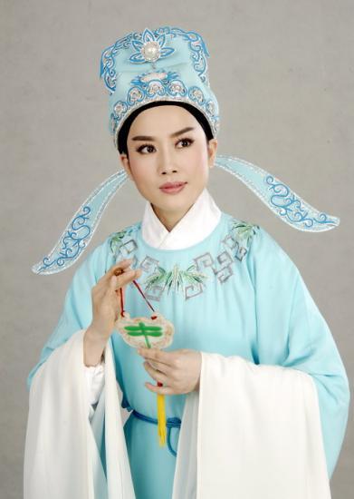 越剧小生王君安下月 回娘家