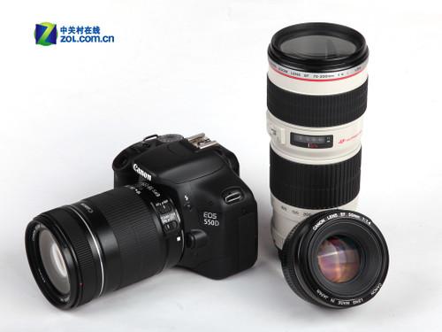 原厂18-200mm防抖头 佳能550D送包8299元