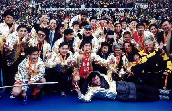 1999年鲁能夺得足协杯