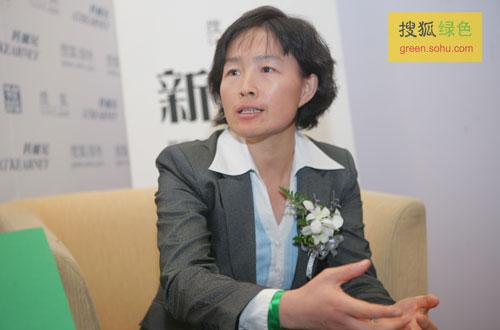 搜狐绿色专访气候组织大中华区总裁吴昌华。(搜狐-刘丹/摄)