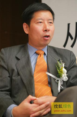 搜狐绿色专访国务院发展研究中心企业研究所副所长张文魁。(搜狐-刘丹/摄)