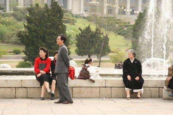 真实美女带你走进朝鲜生活现状