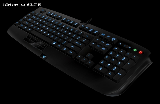 Razer发布首款网游键盘安纳西梵蛛