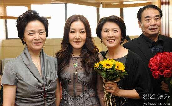 左起:刘莉莉、赵晨阳、张英、孔祥玉