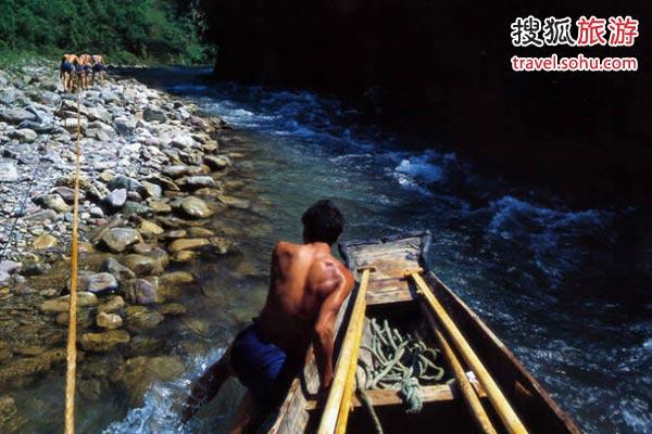 神农溪纤夫