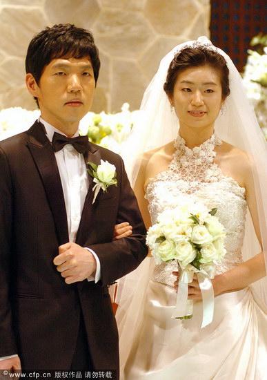 李昌镐与新娘