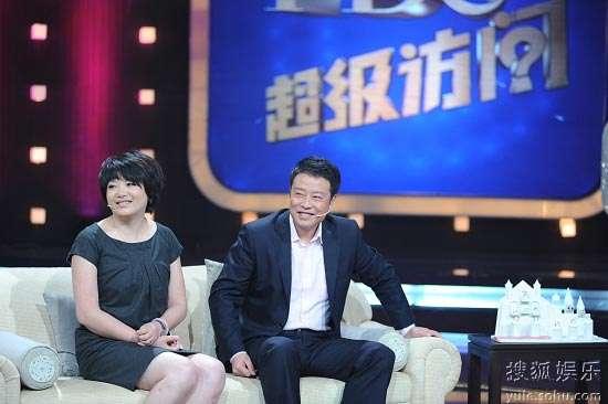 央视气象主播宋英杰携妻做客《超级访问》