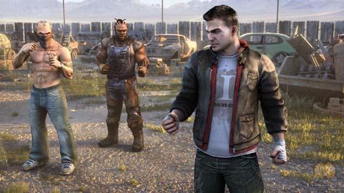 Xbox360体感格斗游戏《格斗解禁》截图滚动频
