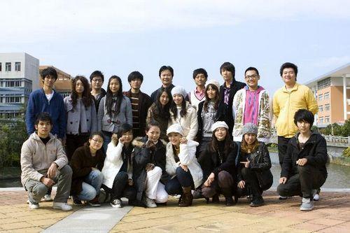杨健生和学生们