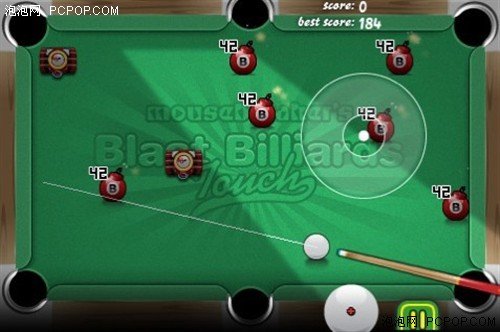 iPhone超效率竞技游戏 炸弹台球挑战赛