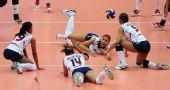 图文:中国女排3-0多米尼加 多米尼加求救