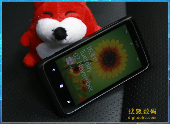 图为HTC 7 Trophy