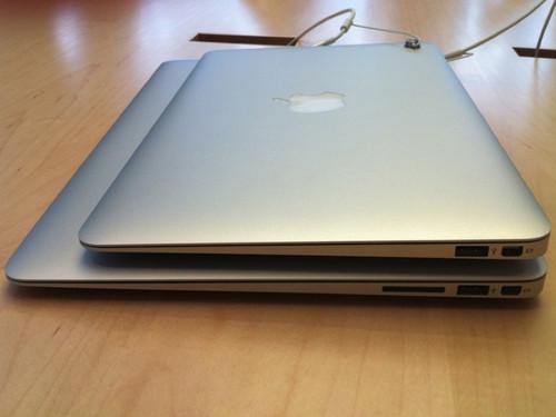 苹果新MacBook Air笔记本拆箱详细对比