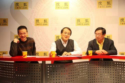 (从左到右:主持人,钟师,贾新光)