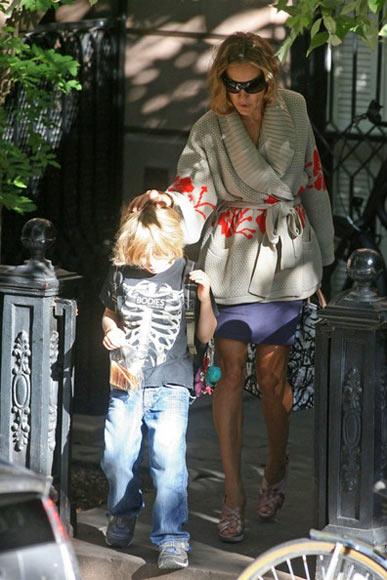 宽松外套:莎拉-杰西卡-帕克
