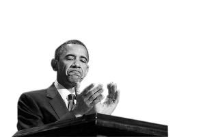 /中期选举失利 奥巴马一脸的无奈/