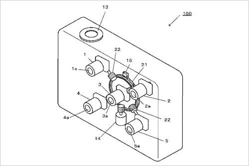 集合五只镜头!尼康3D数码相机专利曝光