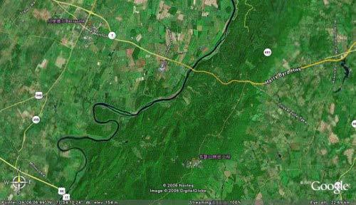 韦瑟山绝密工程卫星图