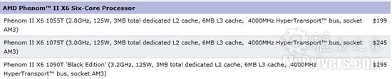 AMD旗舰六核悄然降价