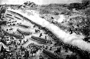英军在凌晨6点30分击败马军的第一次反攻
