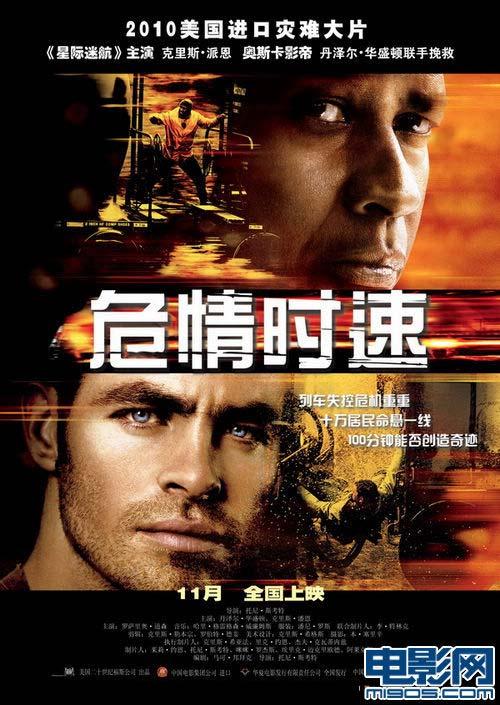 《危情时速》中文海报。