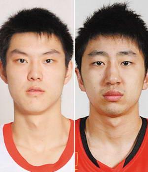 董瀚麟(左)和于澍龙
