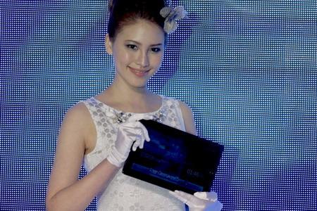 华硕在台北国际电脑展上展示的EeePad