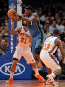 图文:[NBA]奇才负尼克斯 布拉奇传球